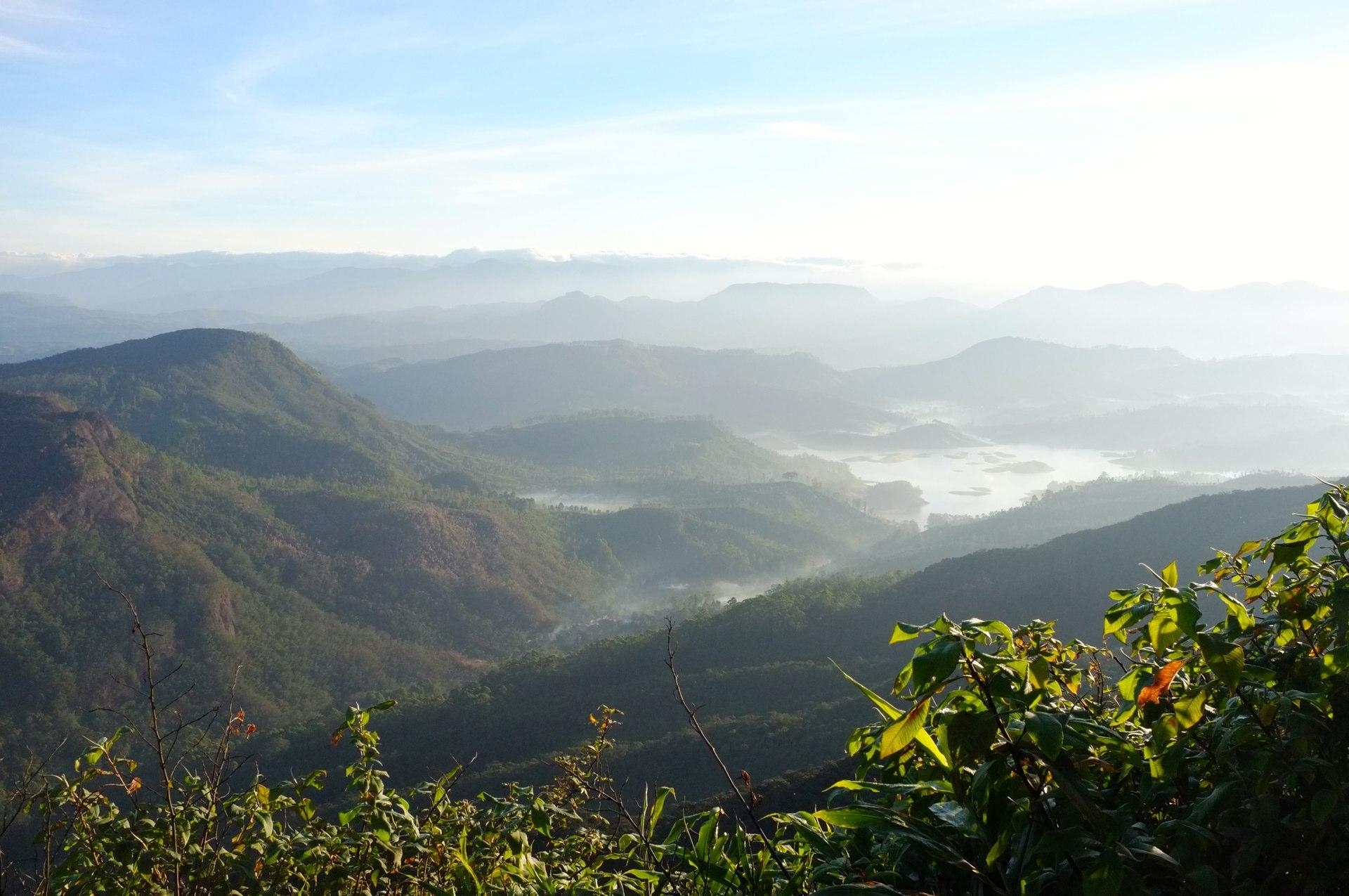 Adam's peak landscape