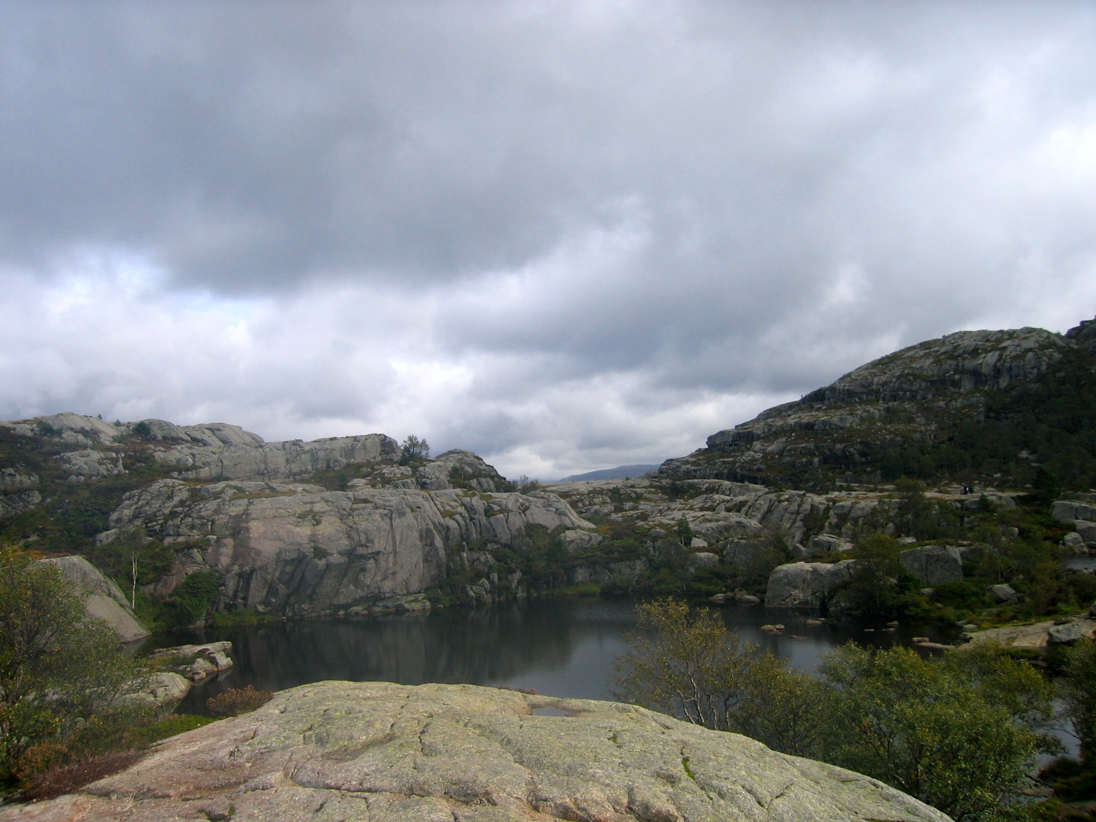 on the way to pulpit rock
