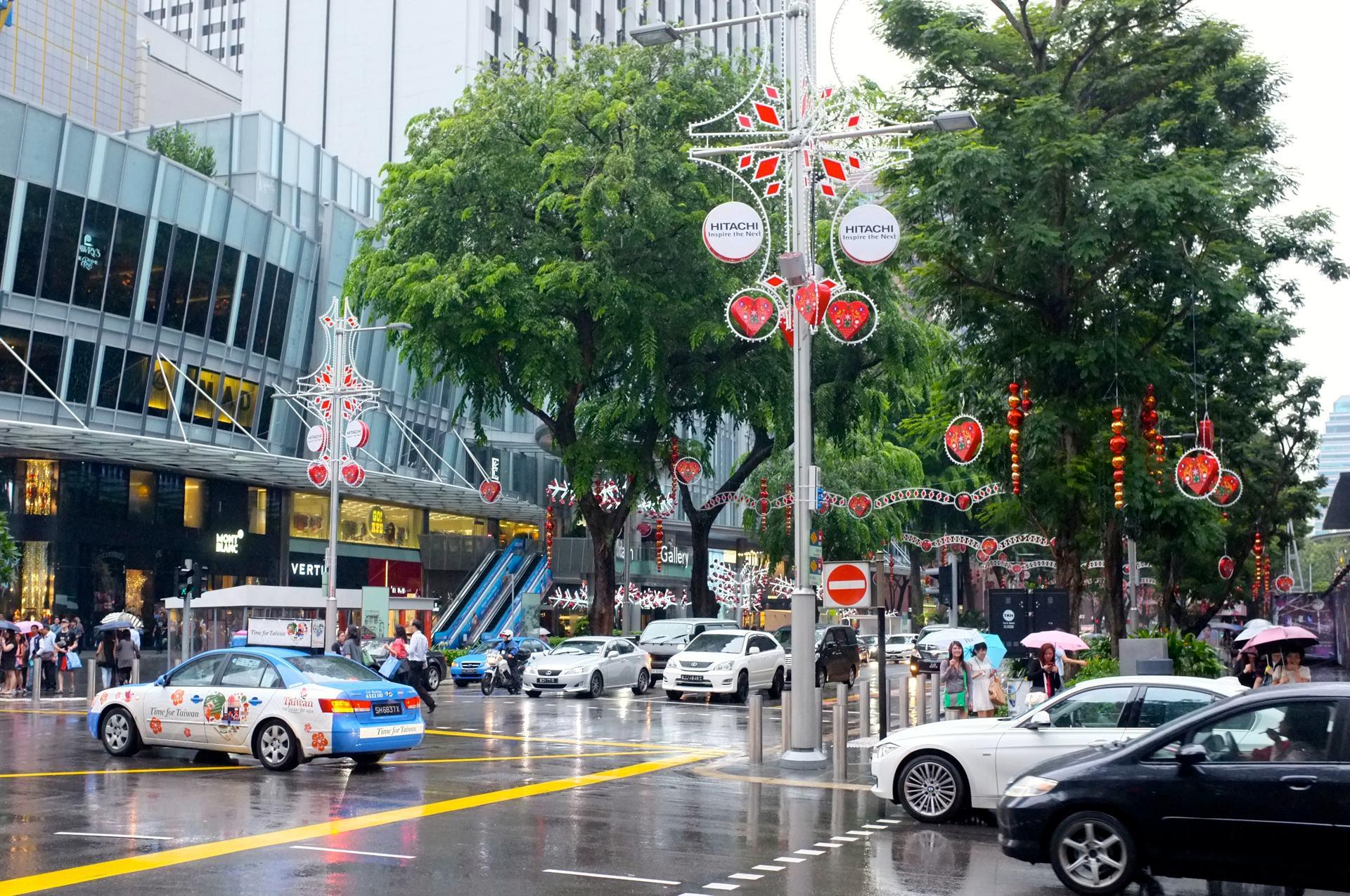 Singapore during Christmas