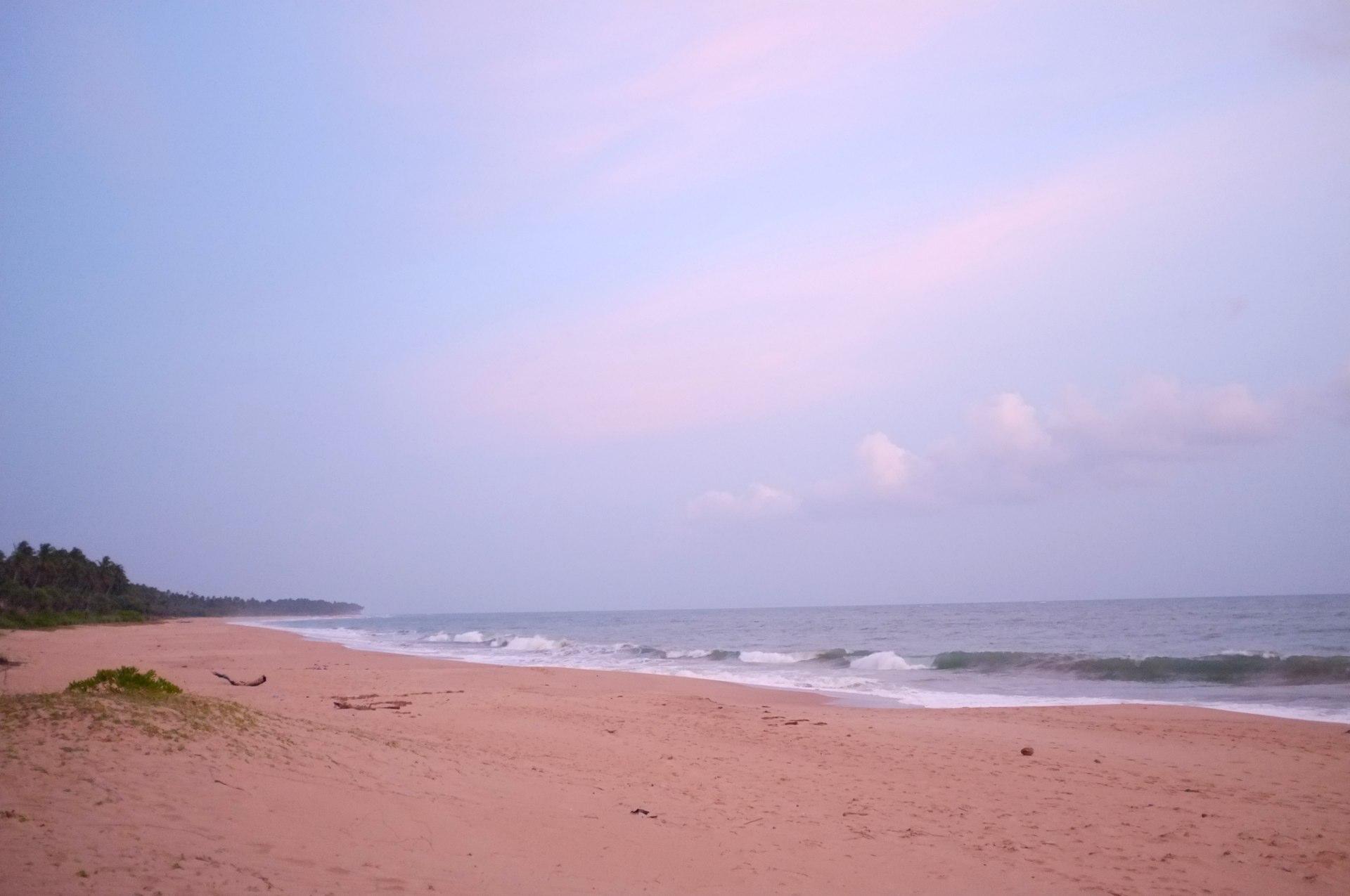 ocean in Tangalle