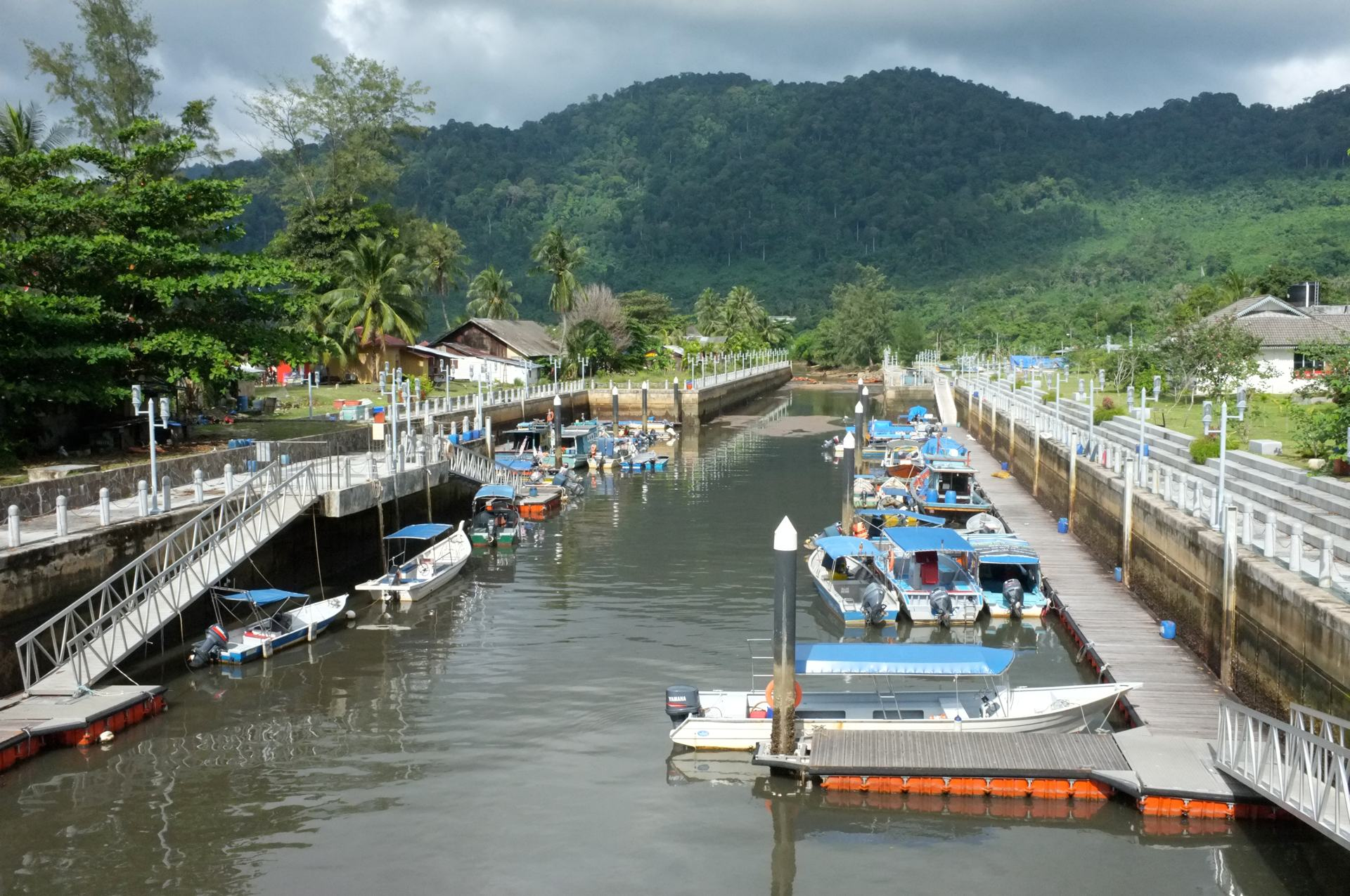 Tioman boats